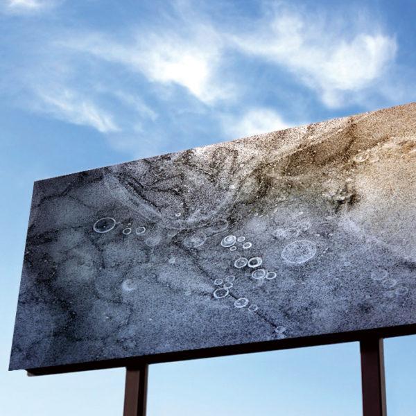 White Billboard with wispy sky – sun on left – updated