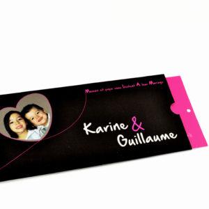 faire part mariage rose bulle personnalisé impression direct – imprimeur vendée 2