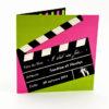 faire part mariage champêtre cinéma personnalisé impression direct – imprimeur vendée